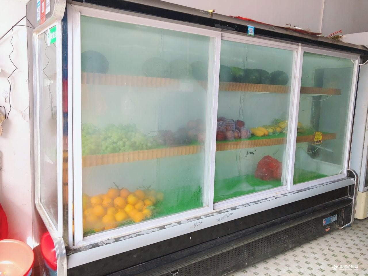 想升级店铺,故转2.7米展柜冷柜(价钱适合都卖了)图1