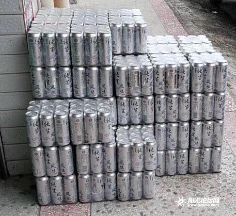 说要送 高罐纯生厂价供应3.5元一瓶