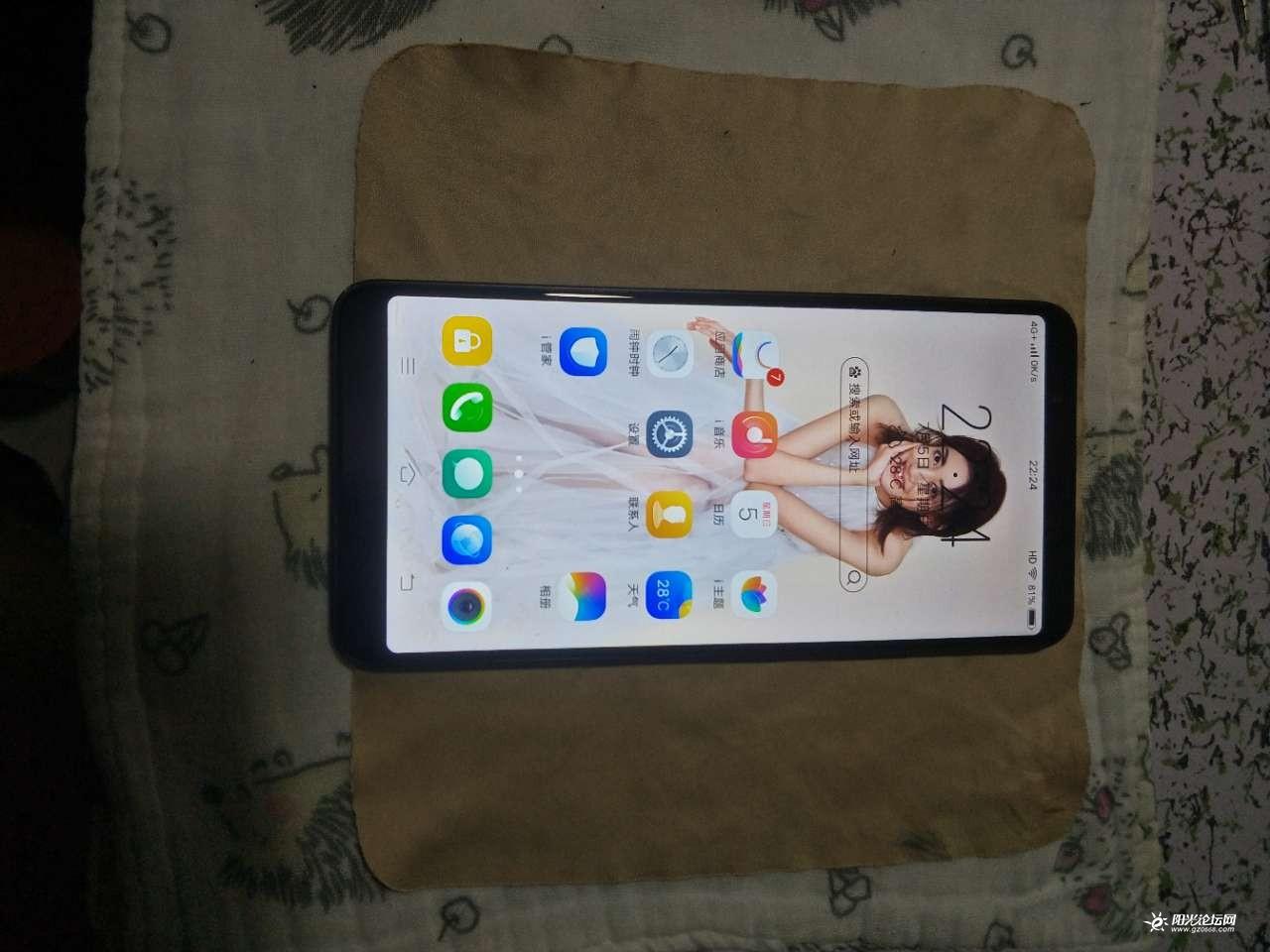 出售vivo x20a手机,内存4+64G,成色8新,价格450元图1