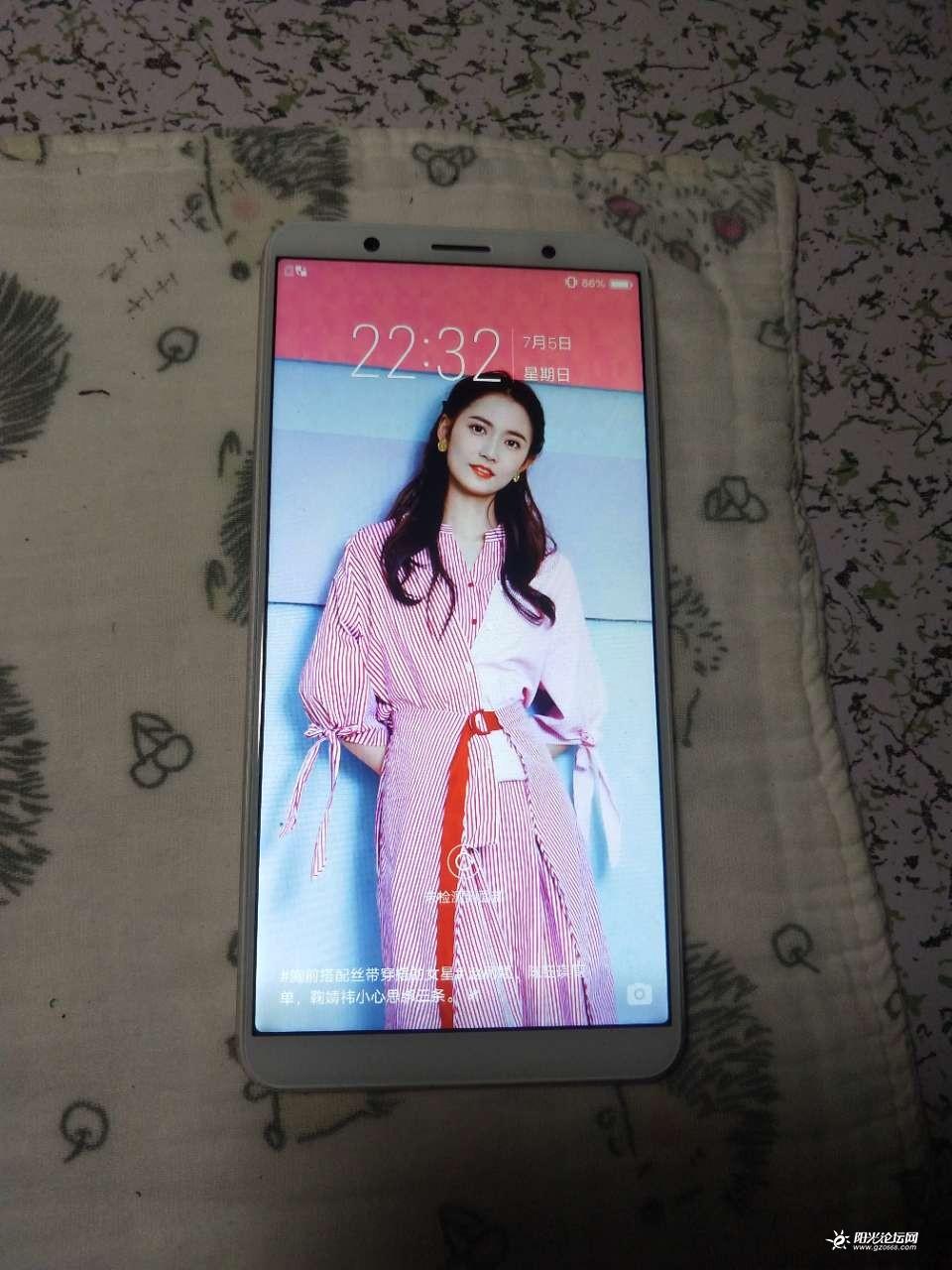 出售vivo x20a手机,内存4+64G,面部识别,后置指纹解锁图1